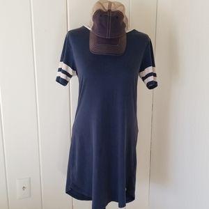 Sports athletic dress- vintahe  blue - Superbowl!!